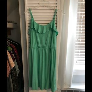 Sea foam green sun dress